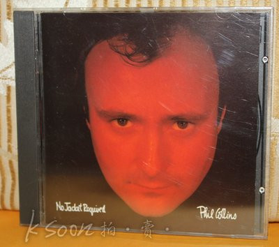 PHIL COLLINS-NO JACKET REQUIRED,1985年,西德製造,無IFPI,WEA唱片