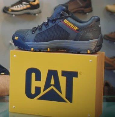 【CAT】Mens CONVEX LO ST 鋼頭鞋系列(90525) - 黑/男 - 原價4650