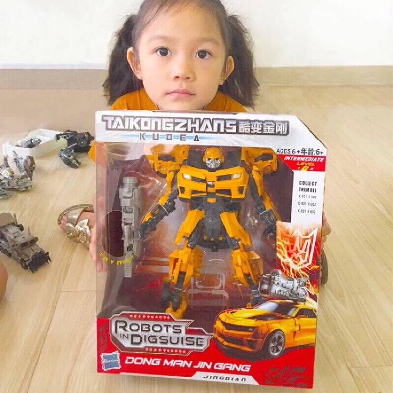 現貨馬上出貨👏🏻✨變形金剛電影版3 航家版V級 大黃蜂戰神🚌模型玩具