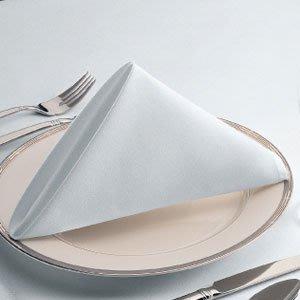 居家家飾設計 餐巾 口布 TC斜紋棉白 55*55cm