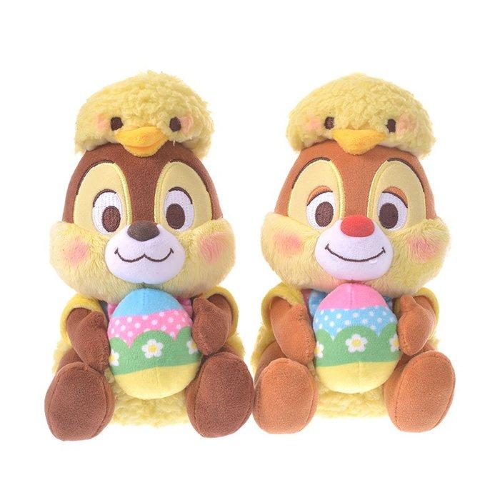 《FOS》日本 迪士尼 奇奇 蒂蒂 復活節 可愛 絨毛 玩偶 鴨鴨 彩蛋 禮物 送禮 2020限定 熱銷 Disney
