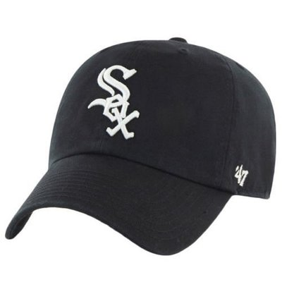 【YZY台灣】47 BRAND CHICAGO WHITE SOX 老帽 復古帽 老爺帽 MLB LOGO 經典 黑