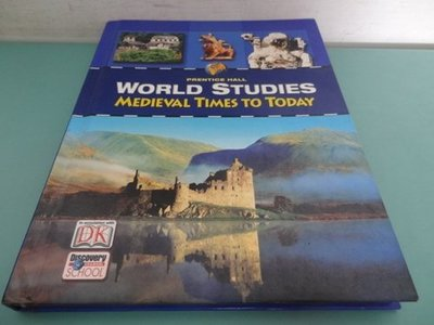 典藏乾坤&書---歷史---DK WORLD STUDIES MEDIEVAL TIMES TO TODAY%