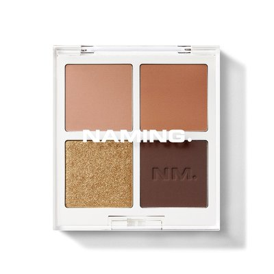 Doota.S 代購 NAMING Color-quartet Eye Palette-Perfect baked眼影盤