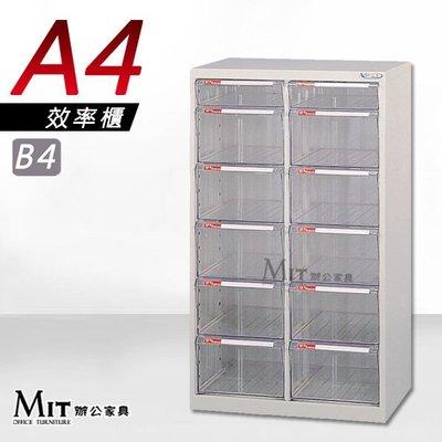 【MIT辦公家具】大富牌  A4效率櫃 大型抽屜 公文櫃 綜合收納櫃 分類資料櫃 多種款式可選 MA44FFL
