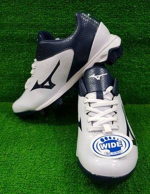 = 威勝 運動用品 = 19年 Mizuno WAVE SELECT NINE 棒、壘球鞋(寬楦) 11GP192214