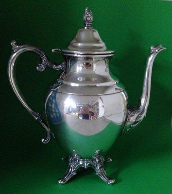 259 高級英格蘭鍍銀壺 Rodgers Silver Plate Coffee Pot
