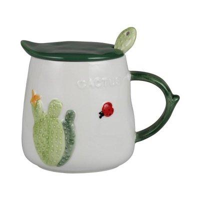 下標88折 春季上新 創意簡約馬克杯帶蓋勺陶瓷杯子咖啡杯早餐牛奶杯成人情侶可愛水杯