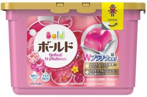 日本洗衣球 日本 P&G洗衣膠球 18入 アリエ-ルARIEL抗菌/ボールドBOLD花香(單買本商品不支援三千免運)