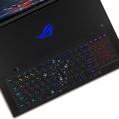 華碩玩度國家ROG冰刃雙屏4鍵盤膜GX550L筆記本電腦Zephyrus Duo15屏幕貼膜 藍光鋼化屏幕膜螢幕保護貼