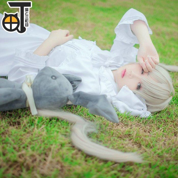 衣萊時尚 穹妹cos緣之空春日野穹cosplay服裝兔耳洋裝動漫#COS道具#COS服裝