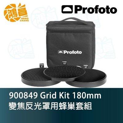Profoto Grid Kit 180mm 變焦反光罩用 蜂巢套組 900849 含5°、10°、20° 佑晟公司貨
