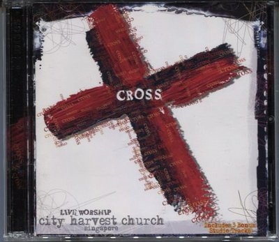 R西洋團(二手CD)CROSS~LIVE WORSHIP~city harvest church singapore~雙CD~(字)