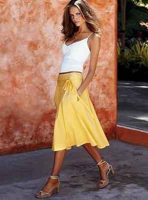 ☆°╮VS流行館╭°☆維多利亞的秘密Victoria's Secret◎法式優雅及膝長裙(現貨在台)