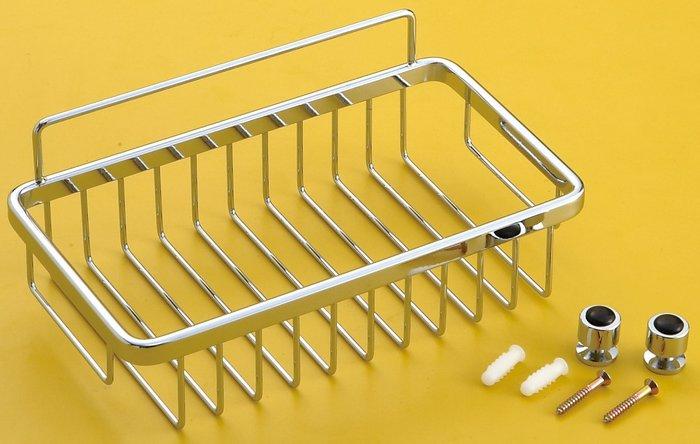[勞倫斯衛浴生活商場] 不鏽鋼 方型架 置物架 L2645  收納 *淋浴拉門、浴櫃*