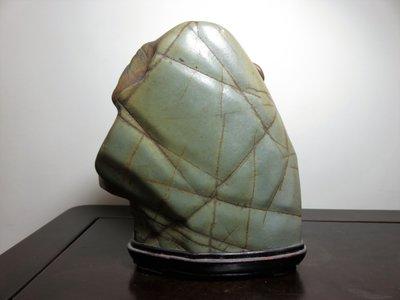 彩陶石 雅石 20x19x9cm !