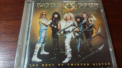 TWISTED SISTER BIG HITS AND NASTY CUTS 經典罕見重金屬搖滾團1992年德版無ifpi 罕見唯一版