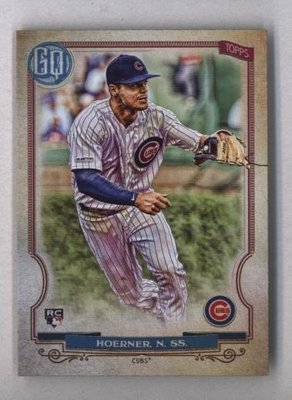 2020 Topps Gypsy Queen #201 Nico Hoerner - Chicago Cubs RC