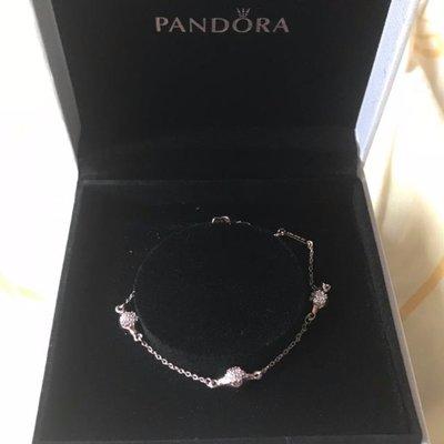 新款 PANDORA Rose Modern LovePods Bracelet 手鍊