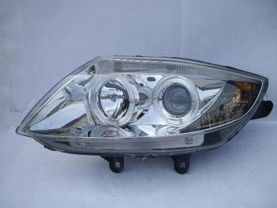 《※台灣之光※》全新BMW Z4 03 04 05 06 07 08年E85晶鑽光圈魚眼大燈組附自動水平馬達