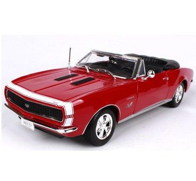 1967 雪佛蘭 Camaro SS 396 復古肌肉車 紅色 FF4431684 1:18 預購 阿米格Amigo