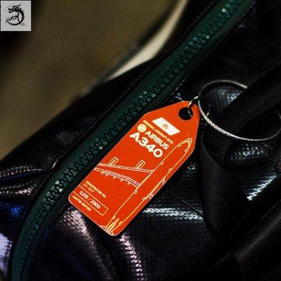九州動漫 德國AviationTag限量鑰匙扣行李牌 西班牙航空 空客340飛機蒙皮