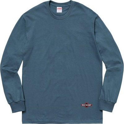 (TORRENT) Supreme X Independent Fuck The Rest L/S 長袖 黑.藍.綠