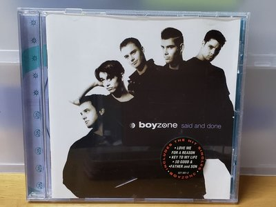 Boyzone said and done CD Together Coming Home Now Love me for a Reason so good