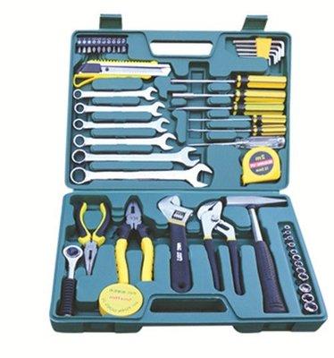 家用組套綜合工具箱49件汽車隨車工具套裝五金多功能禮品家庭組套