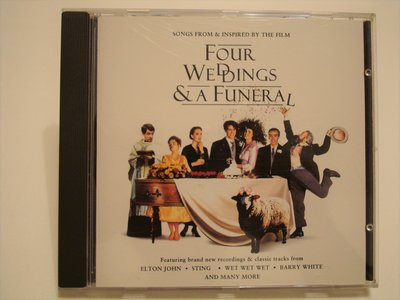 (二手CD)  FOUR  WEDDINGS  A  FUNERAL