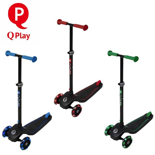 Q Play Future炫光滑板車-3色可選【悅兒園婦幼生活館】