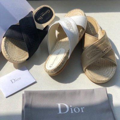 Dior  漁夫拖鞋
