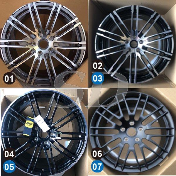 【SD祥登汽車】 For Porsche 保時捷 20吋 鍛造鋁圈 01到20款 另有01款-43款可選擇