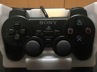 PS2搖桿PS2原廠搖桿送類比鈕保護套 PS2手把PS1手把PS2SONY原廠黑色震動手把PS2原廠手把震動手把振動手把