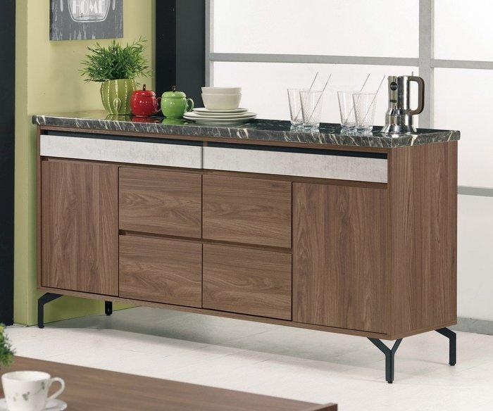尼克5.2尺石面收納櫃/餐櫃😊暖暖屋傢俱傢飾😊