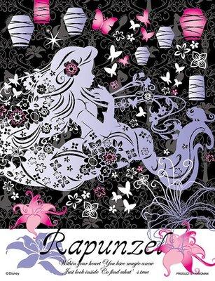 日本拼圖 迪士尼 長髮公主 Rapunzel 樂佩 魔髮奇緣 300片亮面拼圖, 42-04