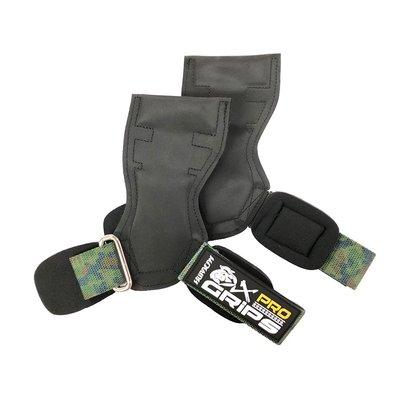 【迷彩綠】HURACAN 颶風 OX Pro 專業重量訓練健身拉力帶