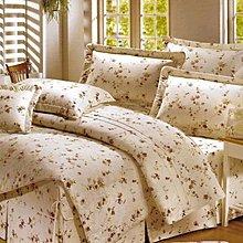 特大兩用被特大床包組四件式-田園花語-台灣製精梳棉 Homian 賀眠寢飾