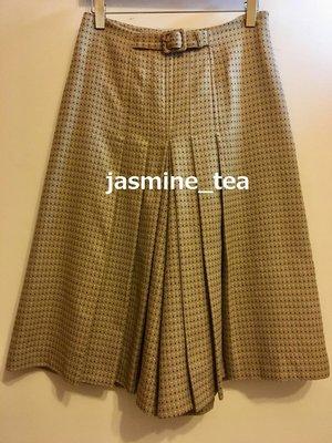I-287/USED<日本製spick and span 織柄腰飾褲裙>38