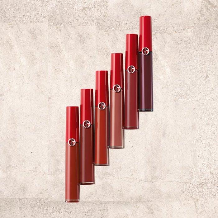 GIORGIO ARMANI亞曼尼奢華絲絨訂製唇萃-亞曼尼復古玫瑰系列【天使愛美麗】專櫃正貨