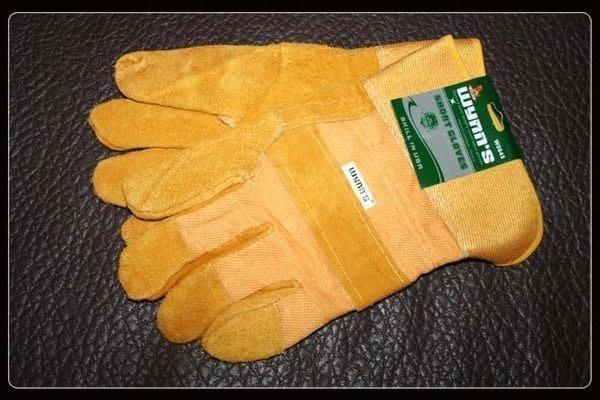 全新低價起標 wynn's 加長 電焊手套 工具手套 防護手套 防割防油耐磨 牛皮手套 超強悍L08