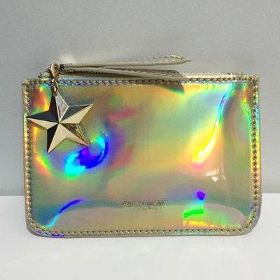 ⓜⓐⓘ ⓜⓐⓘ 桑--- i.t PaPer minT 金屬色星星裝飾拉鍊小包 零錢包 錢包