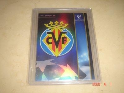 足球 歐洲冠軍聯賽 (UEFA Champions League) Villarreal CF 比利亞雷阿爾足球 球員卡