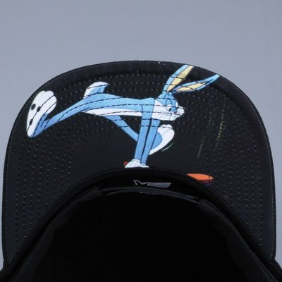Cover Taiwan 官方直營 Starter 怪物奇兵 Snapback 棒球帽 限量 兔寶寶 黑色 (預購)