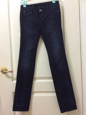 LEVIS modish straight (低腰) 修身激瘦丹寧窄管褲(26) [4B023]