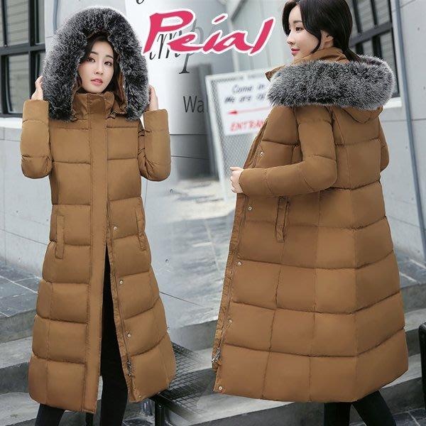 【Peial】西伯利亞雪地羽絨外套修身顯瘦賞雪長大衣雪地羽絨衣風衣《帽子有拉鍊可拆‧這裡是棕色訂購區》長版厚外套連帽外套