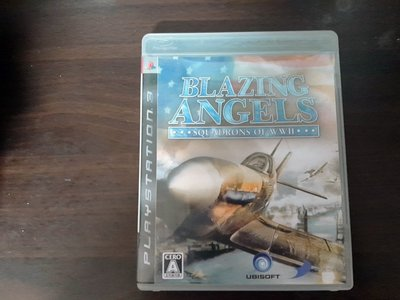 PS3 熾焰天使 二戰英豪~ BLAZING ANGELS 日版