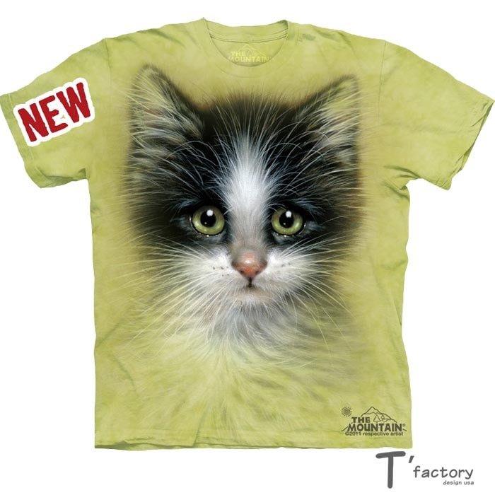 【線上體育】The Mountain 短袖T恤  S號4-3 綠眼貓 TM-103463.jpg