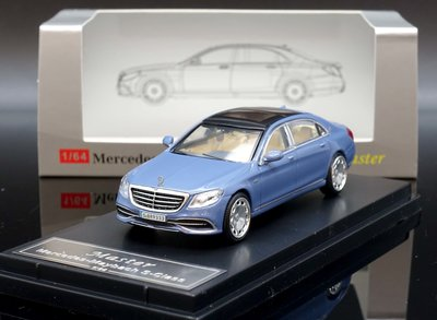 【M.A.S.H】現貨特價 Master 1/64 Mercedes Maybach S Class S680 藍