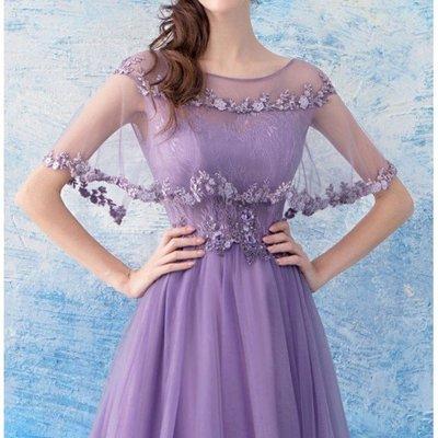 (45 Design) 高雄長禮服婚紗禮服伴娘服 托尾晚禮服 結婚 訂婚大小可做商品編號B18